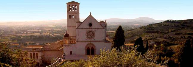 The Basilica of St Francis, Assisi