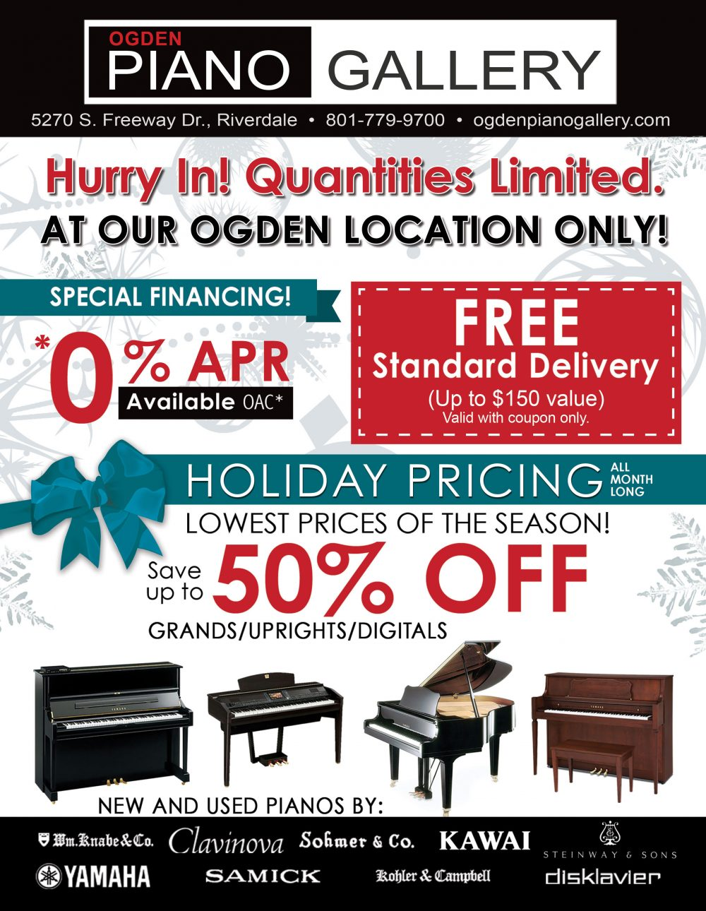 Sale Black Friday Black Friday Piano Sales In Ogden Ogden Piano Gallery
