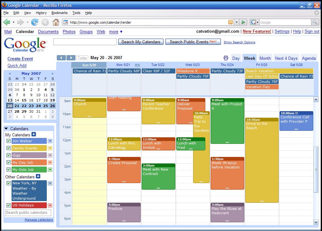 How Do I Setup A Google Calendar How To Use Gmail Help Google Mail Screenshots And Videos – Oggsync