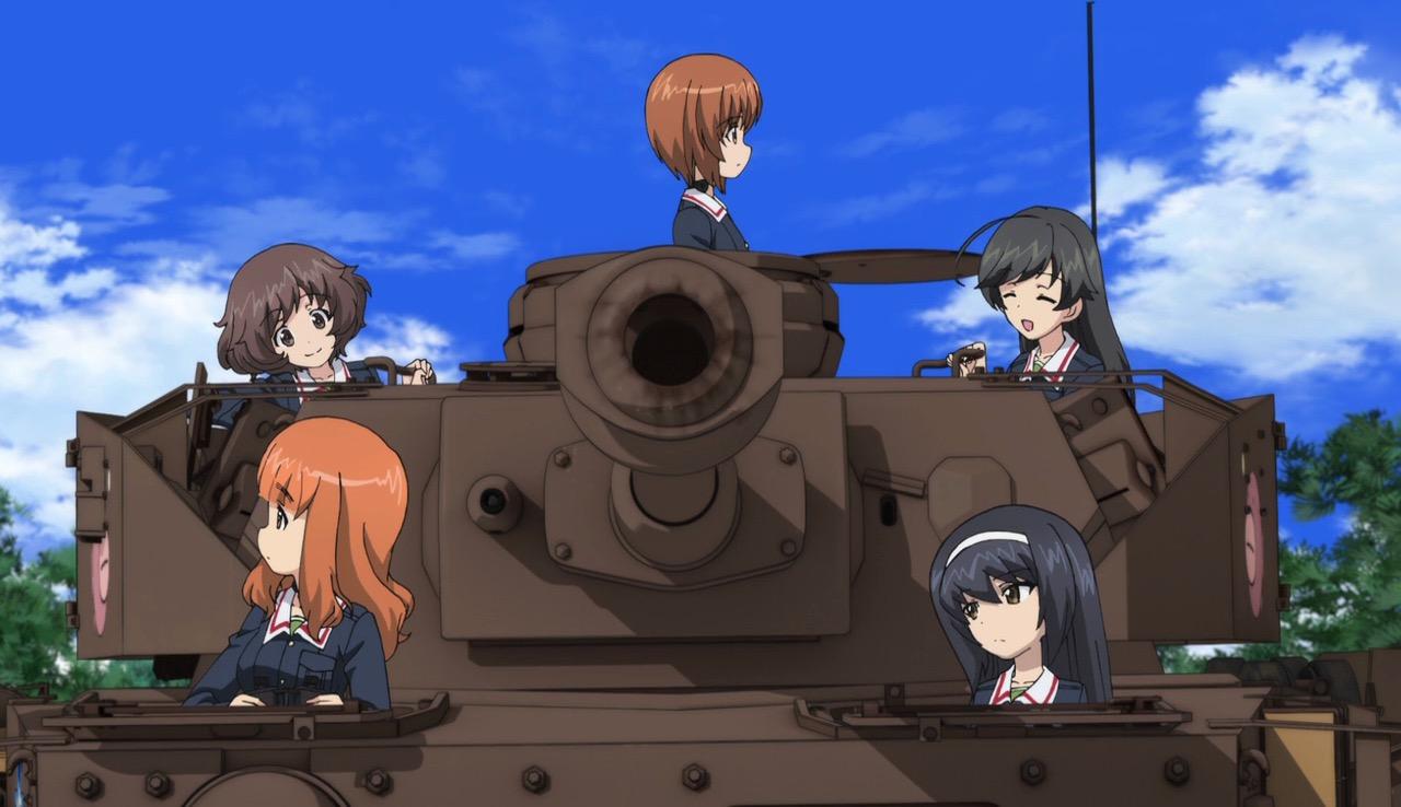 Strong Girl Wallpaper Over Half The Movie Is Tank Battles Girls Und Panzer Der