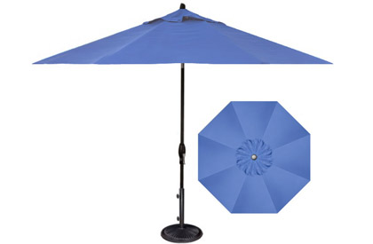 Outdoor Patio Furniture Parasol Umbrellas And Fire Pits