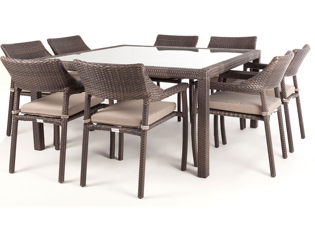 Table Carre 8 Personnes Table Exterieure Carree 8 Personnes