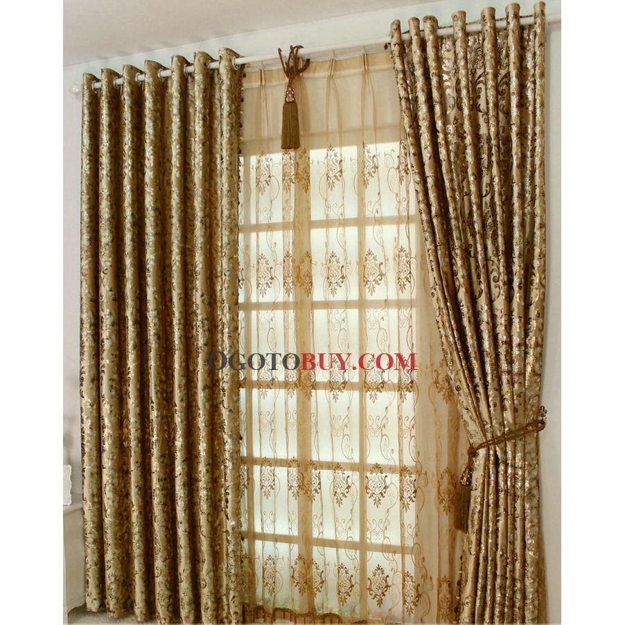Buy Draperies Royal Luxury Velvet Gold Eco Friendly Solid Curtains Buy Curtains