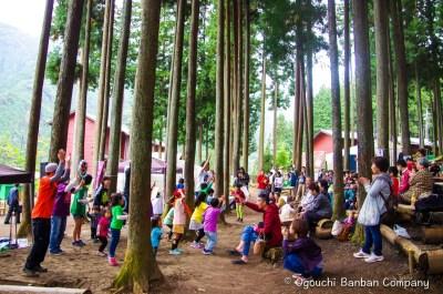 東京多摩学園しいたけ収穫祭