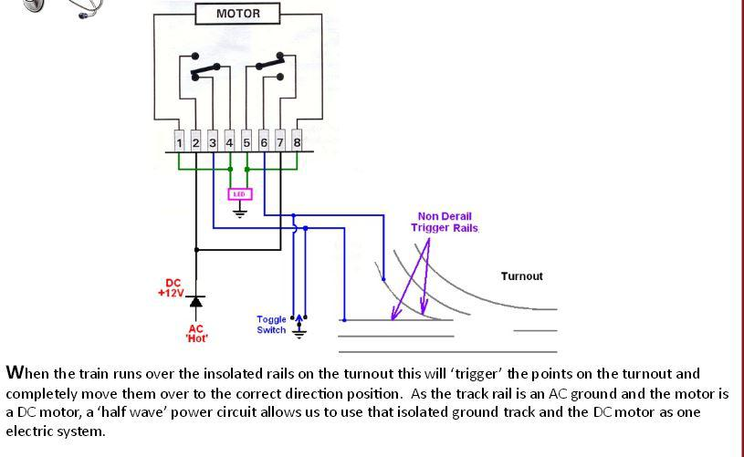 tortoise switch machine wiring diagram