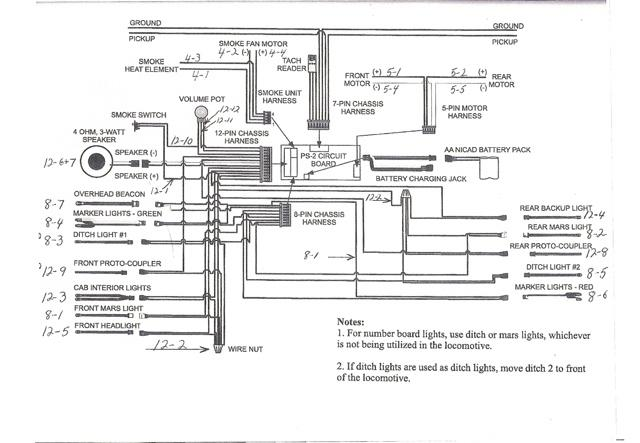 mth ps2 wiring diagram