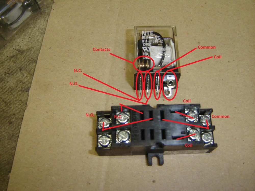 Ice Cube Relay Base Wiring - Just Wiring Diagrams
