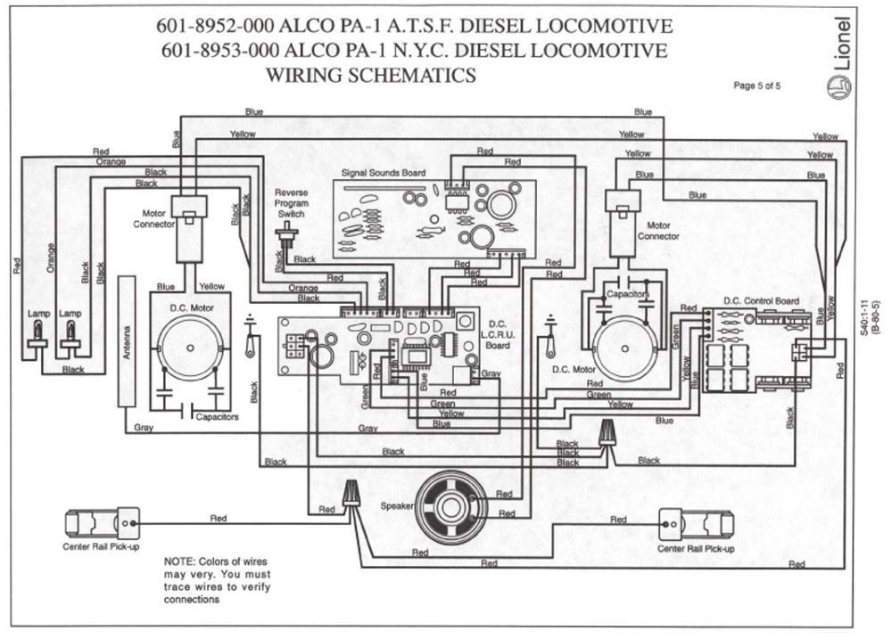 671 Lionel Train Wiring Diagram automotive wiring diagrams