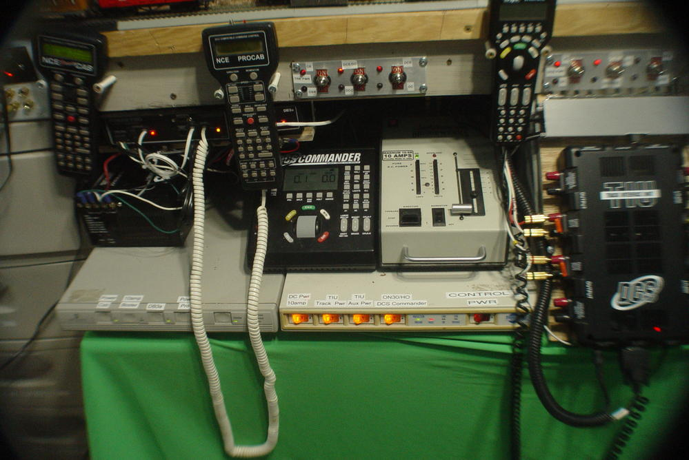 Control panel WiFi MTH DCS, Lionel Legacy, NCE DCC O Gauge