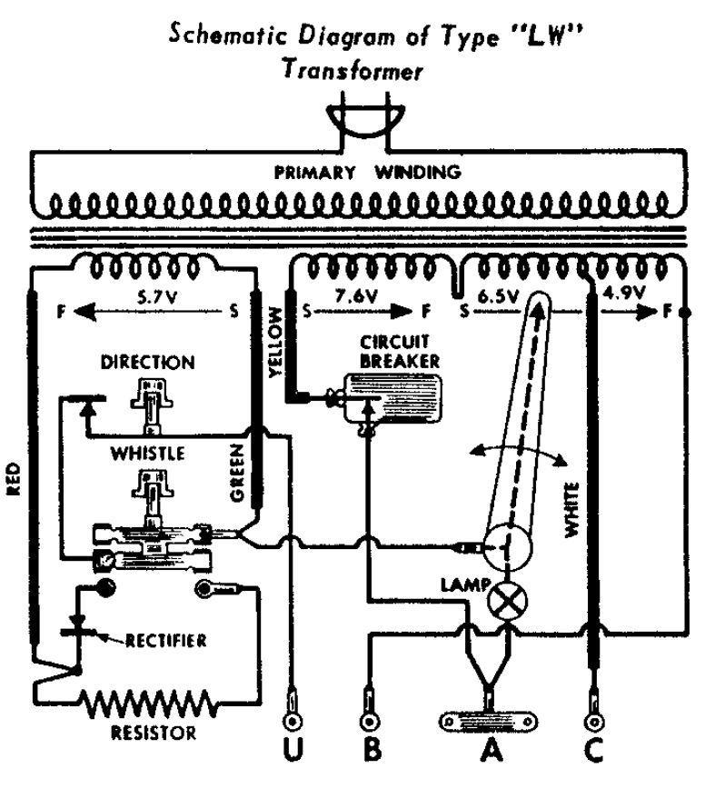 lionel transformer type r wiring diagram