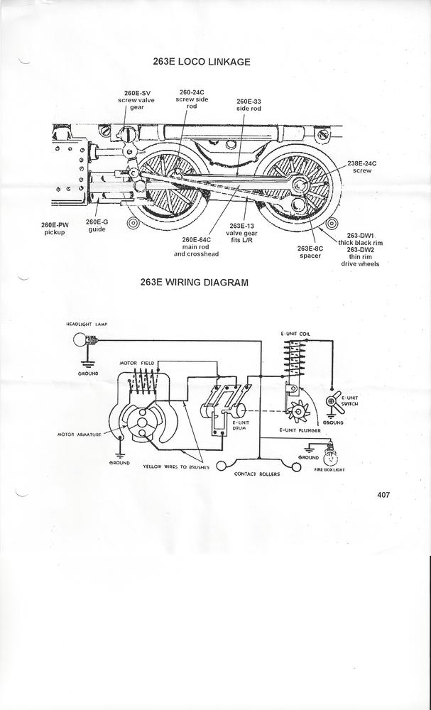 e one wiring diagram