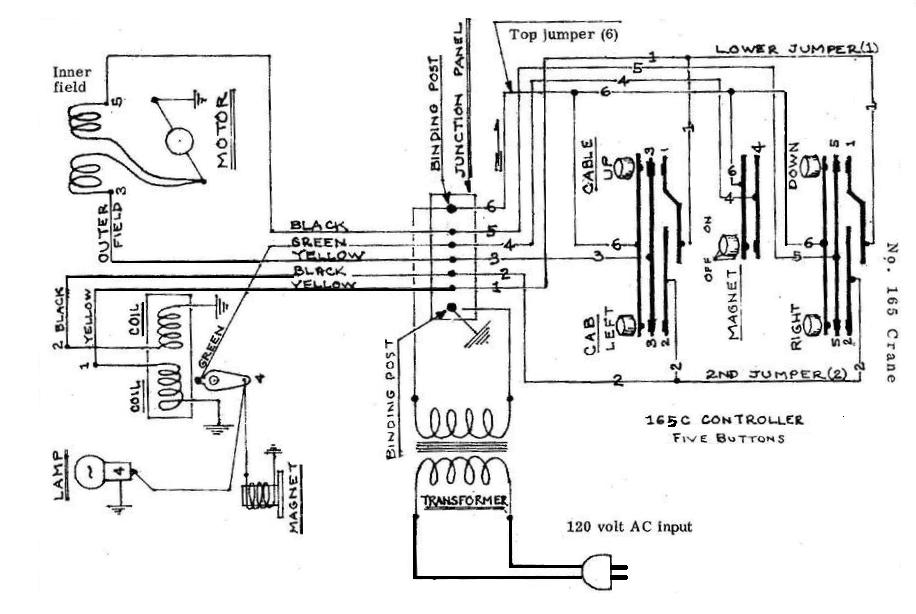 Crane Motor Wiring Diagram - Wiring Diagrams