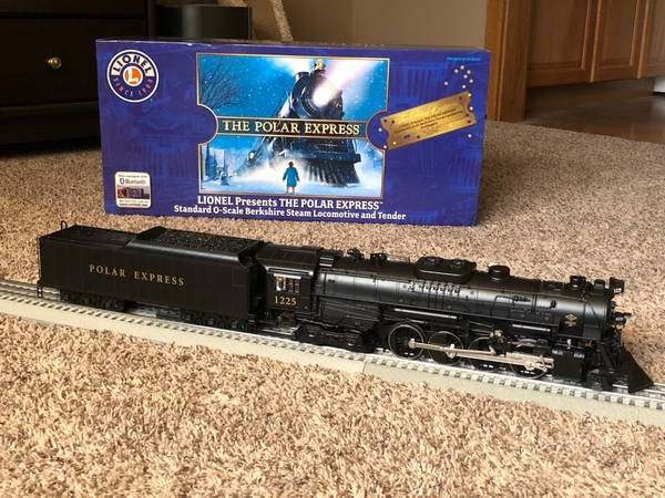 Lionel Legacy Polar Express Train As Well As Lionel Train Track