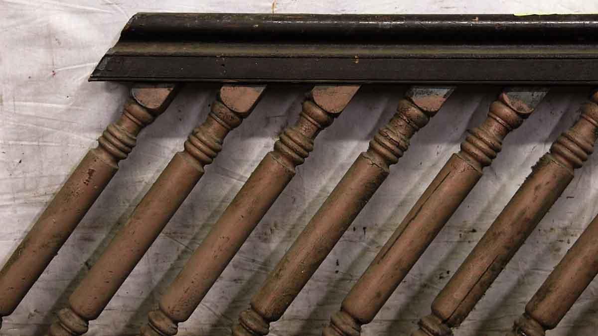 Big Chunky American Chestnut Stair Railing Olde Good