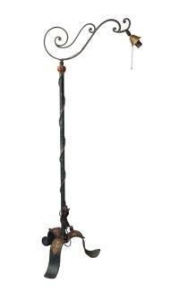 Antique Original Bronze Floor Lamp | Olde Good Things