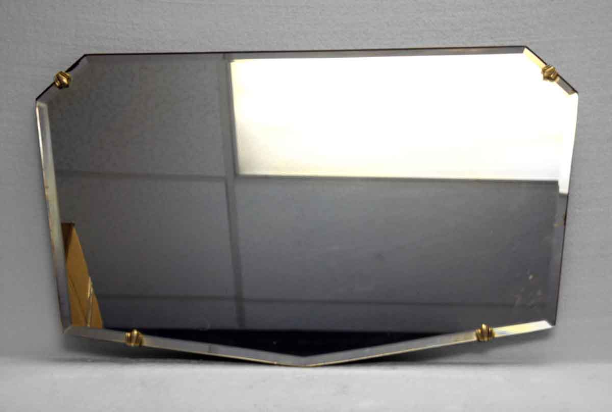 Unique Shaped Mirror Unusual Small Geometric Shaped Beveled Frameless Mirror