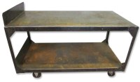 Industrial Metal Rolling Cart | Olde Good Things