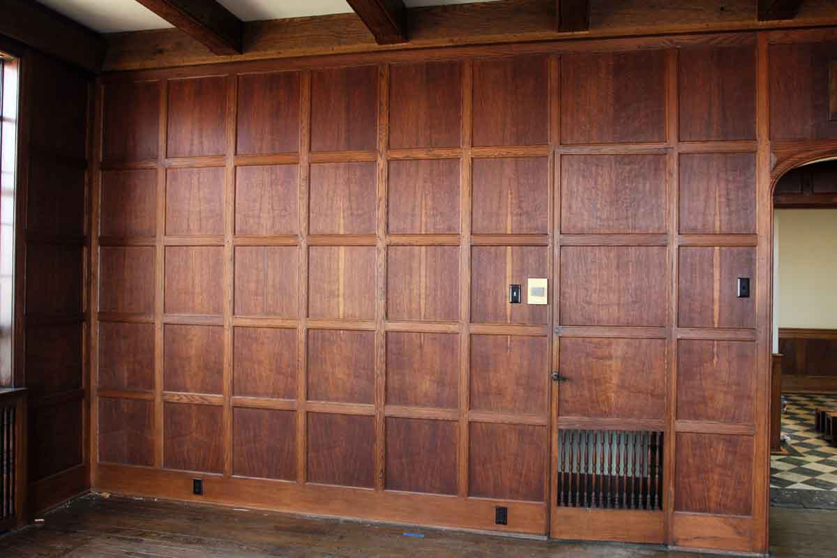 Oak Wall Panelling Arts And Crafts Solid Oak Paneled Room Olde Good Things