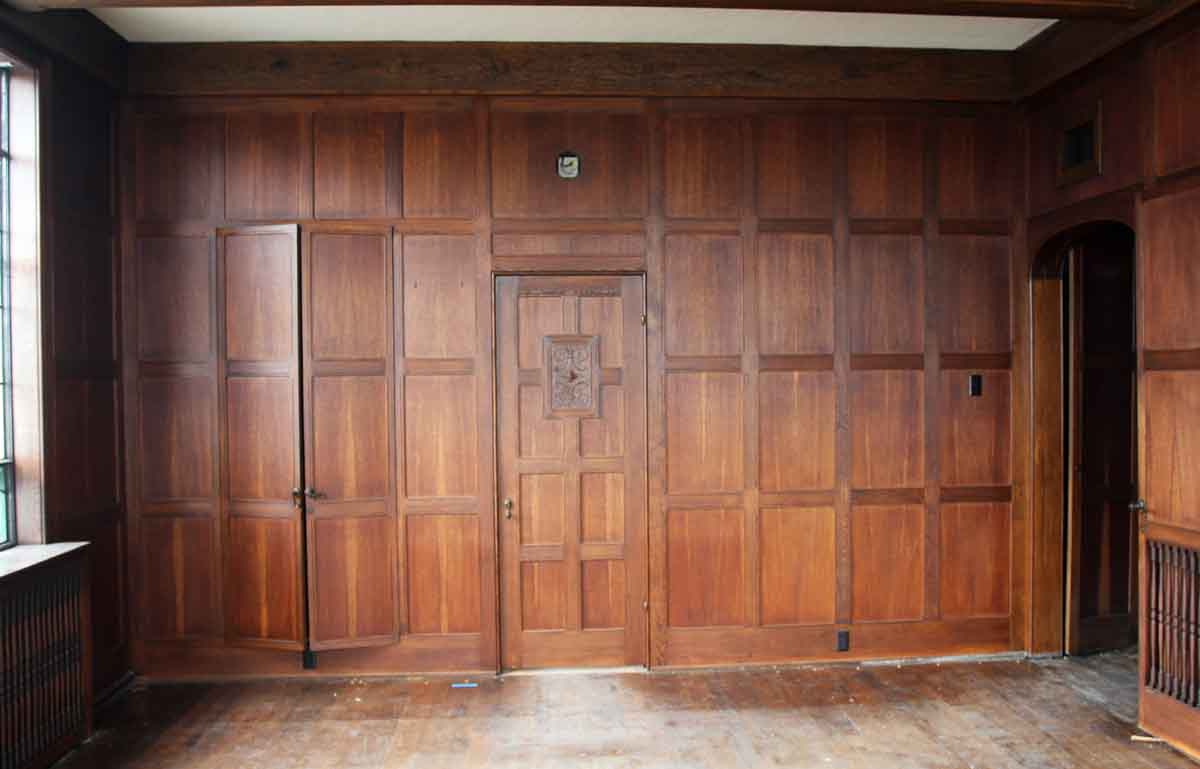 Oak Wall Panelling Solid Oak Arts And Crafts Wood Paneled Room Olde Good Things