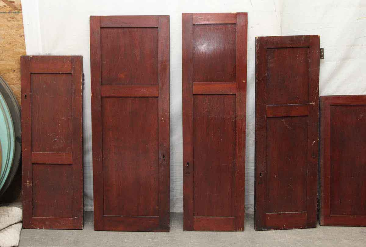 Birch Wood Cabinet Door With Two Panels Olde Good Things