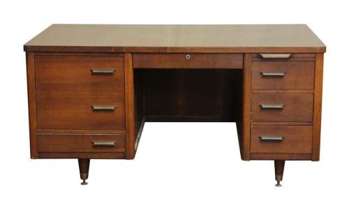 Medium Of Mid Century Desk