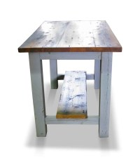 Reclaimed Pine Kitchen Island or Work Table | Olde Good Things