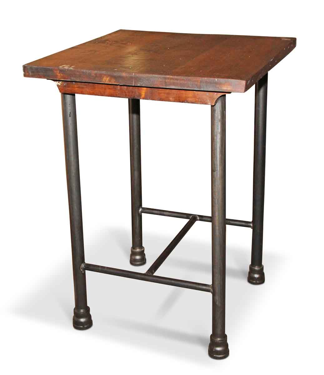 Tall Table Square Kitchen Island Or Tall Side Table | Olde Good Things