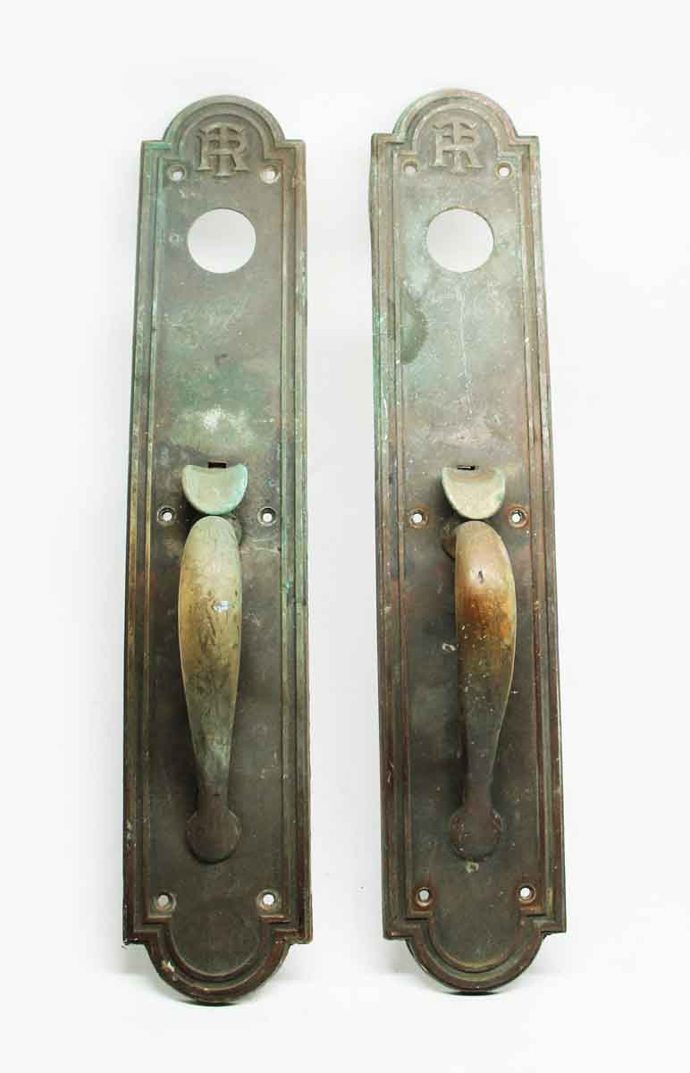 Door Pulls Antique Emblematic Tr Pair Of Bronze Door Pulls