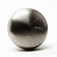 Modern Brushed Nickel Cabinet Knob | Olde Good Things