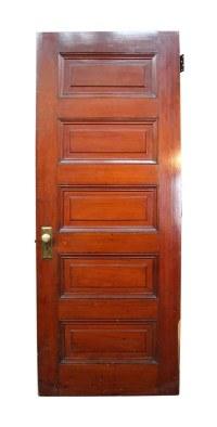 Old Wooden 5 Raised Panel Interior Door | Olde Good Things