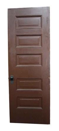 Raised Panel Antique Wooden Interior Door | Olde Good Things