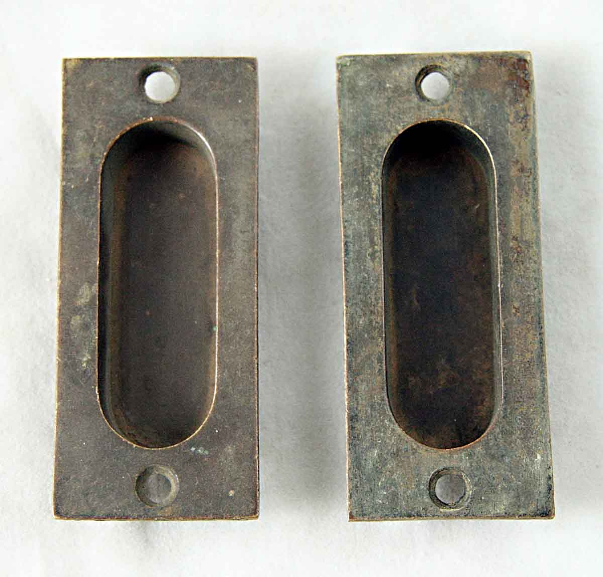 Home Hardware Windows Salvaged Cast Bronze Window Recessed Pull Olde Good Things