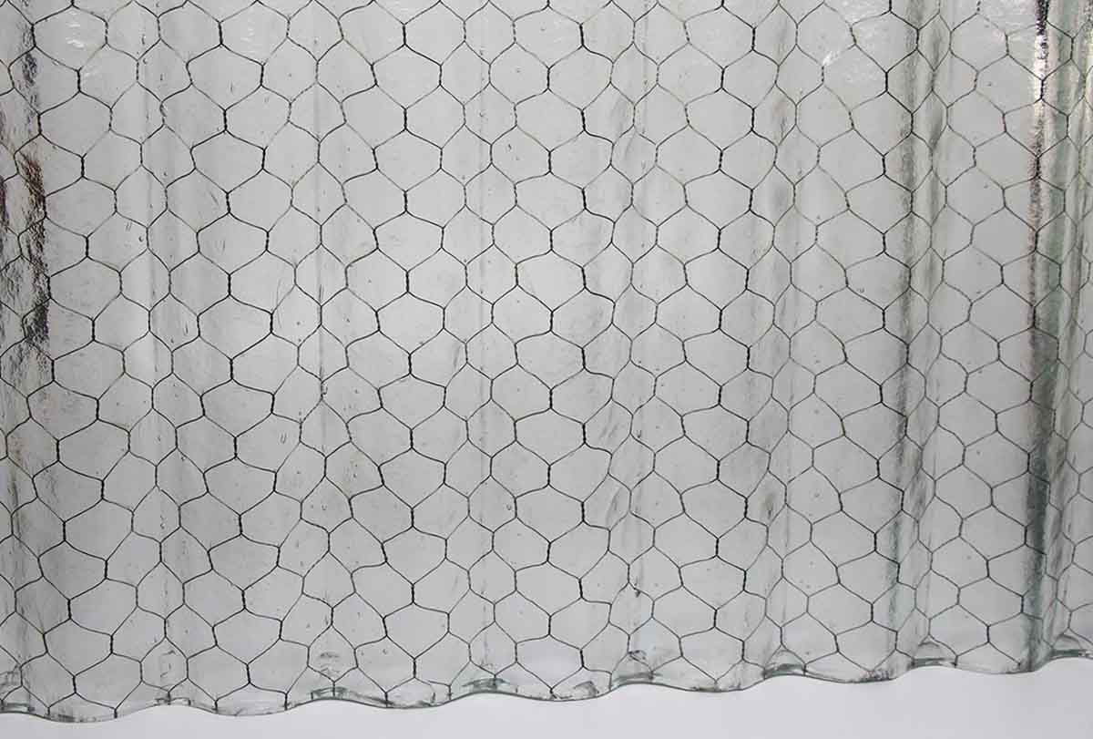 Where To Buy Wire Corrugated Fire Resistant Clear Colored Chicken Wire Glass Olde Good Things