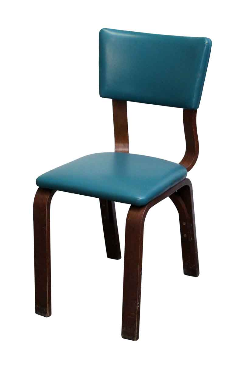 Thonet Jobs Teal Bentwood Maple Thonet Chair