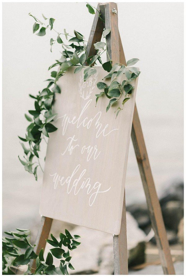 Wedding Decoration Ideas 20 Brilliant Wedding Welcome Sign Ideas For Ceremony And