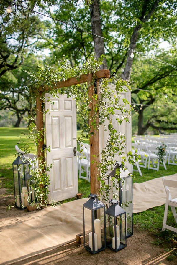 Table Jardin Eucalyptus 10 Amazing Wedding Entrance Decoration Ideas For Ceremony