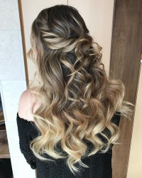 10 Glamorous Half up Half down Wedding Hairstyles from ...