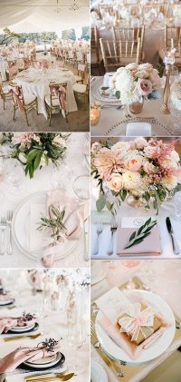 Top 15 So Elegant Wedding Table Setting Ideas for 2018 ...