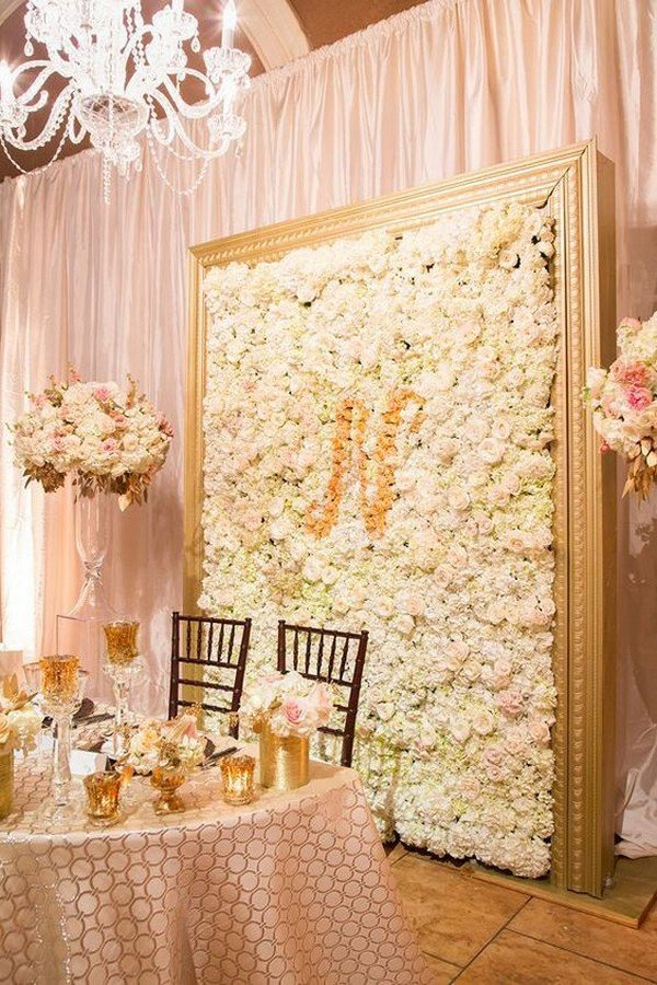 Décoration De Stand 10 Brilliant Flower Wall Wedding Backdrops For 2018 - Oh