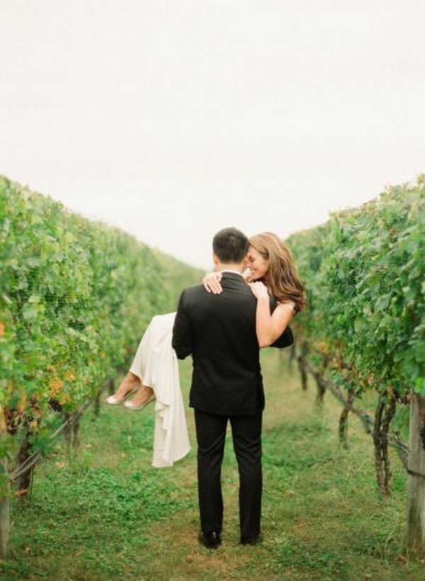 Rustic Chic 28 Chic Vineyard Themed Wedding Ideas For 2018 - Oh Best