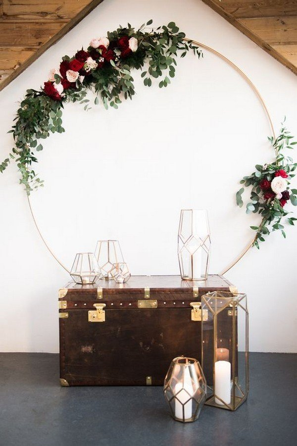 Elegant Wedding Reception Ideas 40+ Chic Geometric Wedding Ideas For 2018 Trends - Page 4