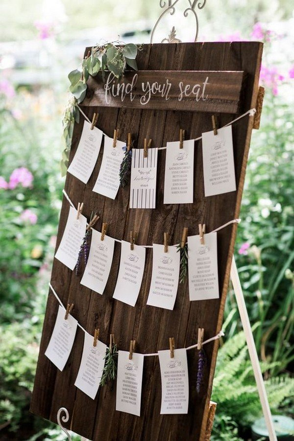 Hochzeitsdeko Ideen 20+ Trending Wedding Seating Chart Decoration Ideas - Oh