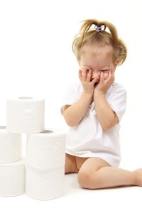 potty training kid