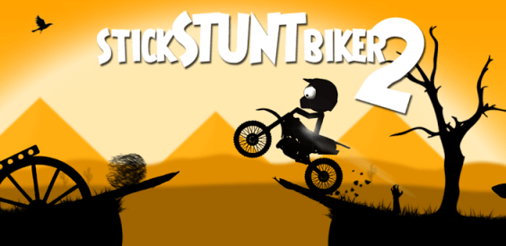 Android Game Apps: Stick Stunt Biker 2