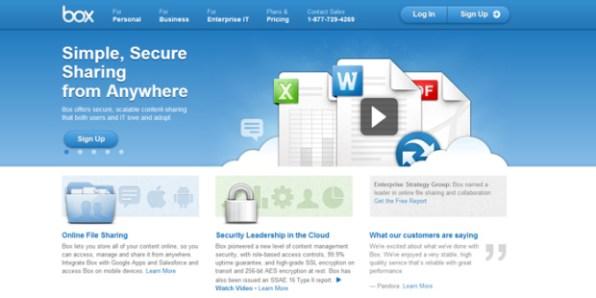 Box-Cloud-Storage