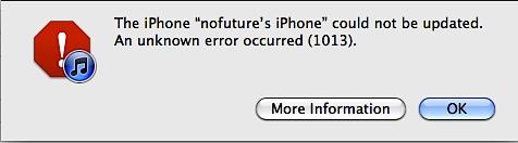 iTunes Error 1013: How to Fix