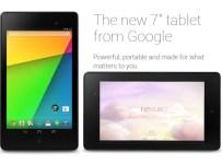 The New Google Nexus 7 2013