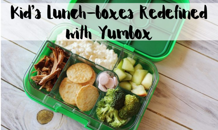 Kid's Lunch-boxes Redefined with Yumbox