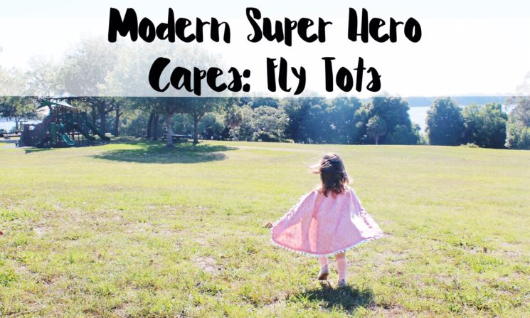 Modern Super Hero Capes: Fly Tots