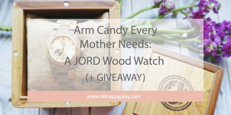 Arm Candy Every Mother Needs: A JORD Wood Watch (+ GIVEAWAY)